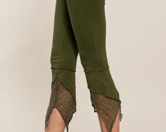 Leggings - Pointy Pixie leggings - burning man - Perfect Yoga Pants - Fairy Tights - women clothing