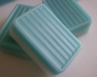Acqua di Gio Handmade Gift Soaps LARGE ultra-rich Shea and Cocoa butter goats milk, 6 oz each