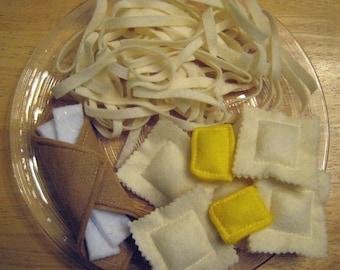 Felt Food Italian Dinner  Sewing Pattern
