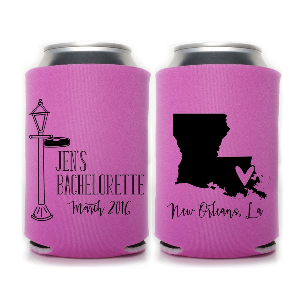 Bachelorette Party Can Coolers New Orleans Bachelorette | Etsy