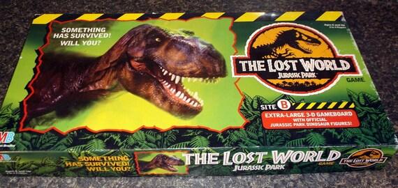Juego De Mesa Vintage 1996 El Perdido Mundo Jurassic Park Etsy