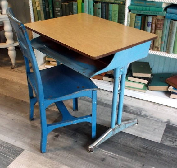image 0 - Vintage American Seating Company CLASSMATE School Desk And Etsy