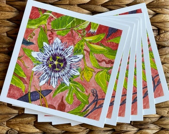 """Card Set: """"Catalina Passionflower"""""""