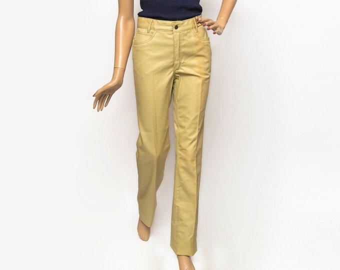 jeans Vintage 70's  beige pants trousers  w29