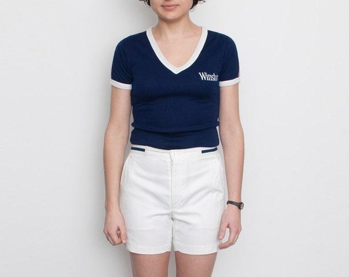 NOS Vintage white tennis Shorts  size S