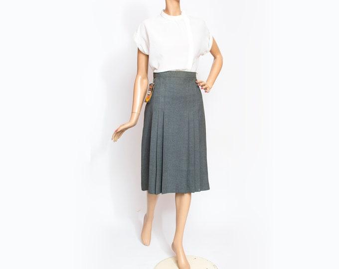 Vintage gray  Skirt deadstock vintage