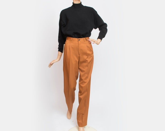 Vintage dark orange pants trousers deadstock vintage