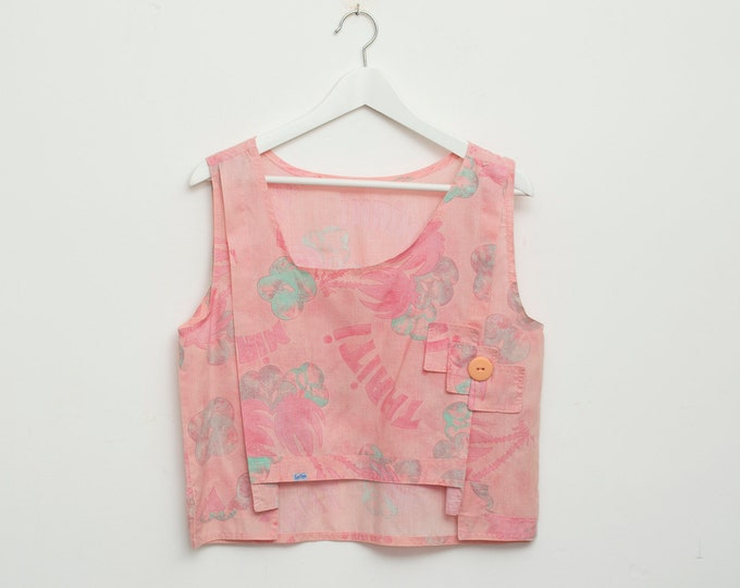 Vintage pink top deadstock