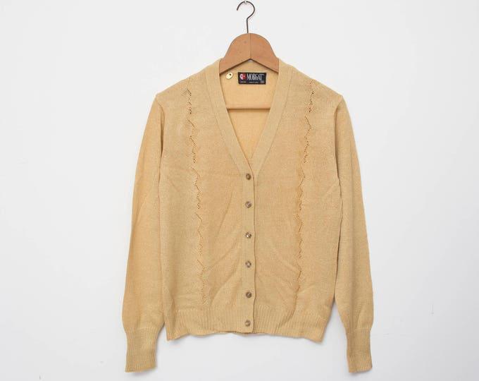 Vintage cardigan deadstock knit