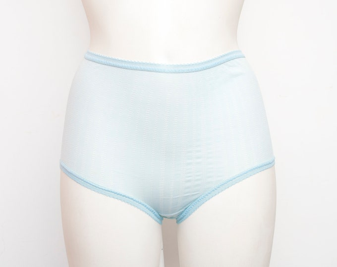 high waist panties blue dead stock Vintage