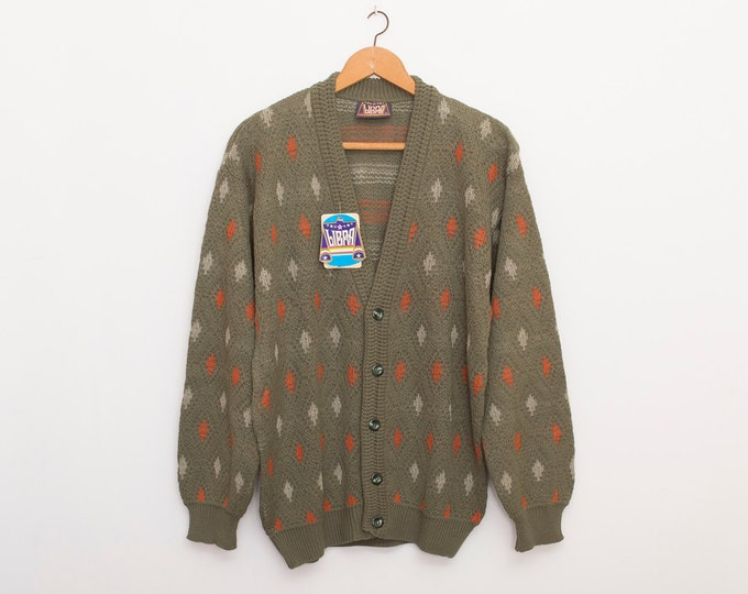 oversized cardigan sweater vintage deadstock