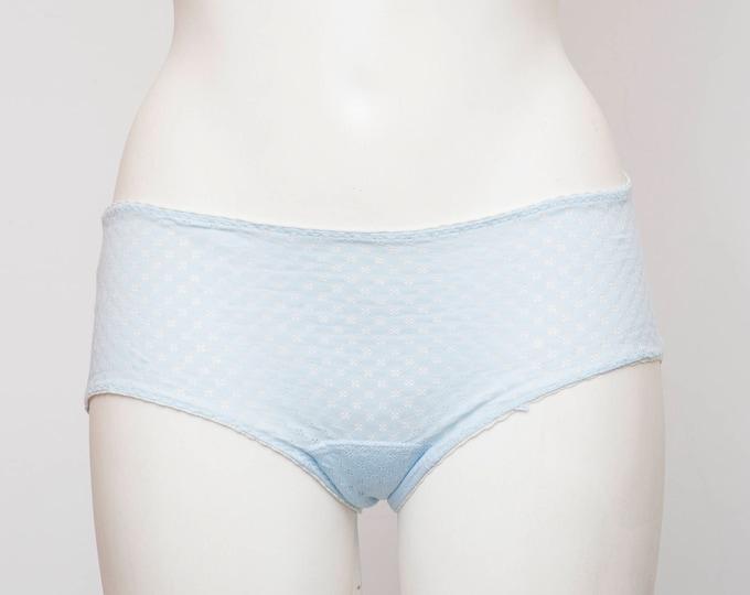 vintage blue panties dead stock Vintage