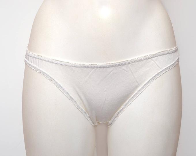 White vintage white panties deadstock