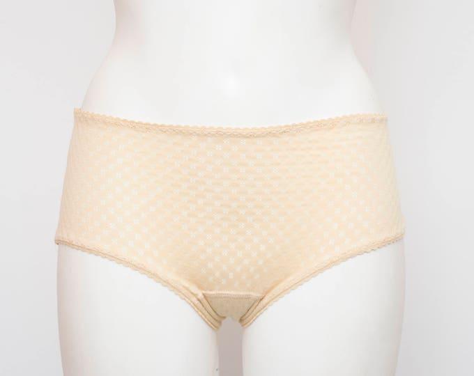 vintage beige panties dead stock Vintage