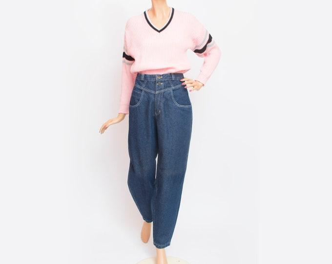 NOS Vintage 90 blue jeans high waist jeans