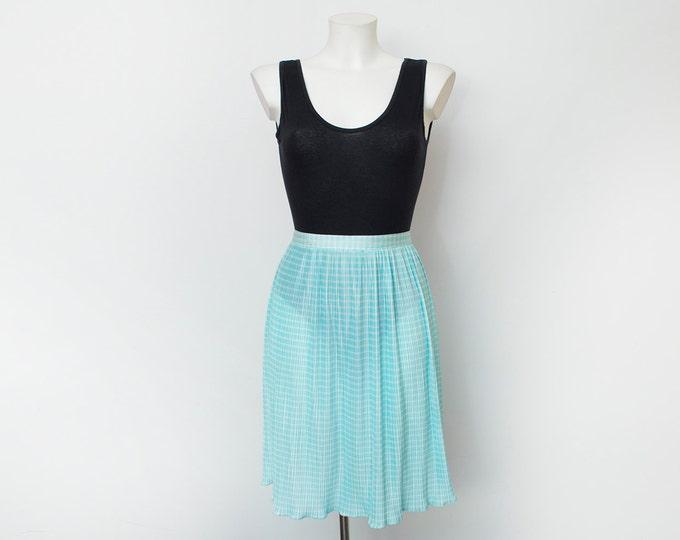 sheer skirt Deadstock vintage summer skirt