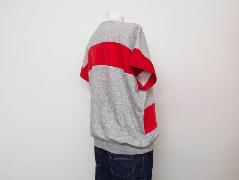 sweater vintage deadstock track suit top with zipper