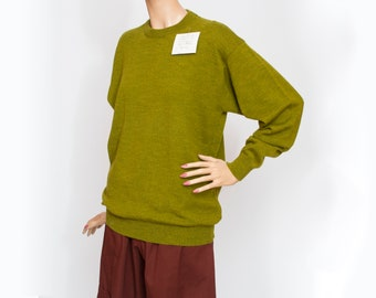 Sweater NOS vintage green sweater