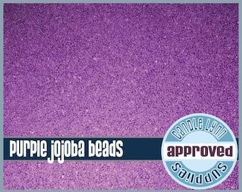 Purple Jojoba Beads, 1/2 oz