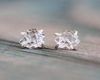 Herkimer Diamond Sterling Silver Post Earrings