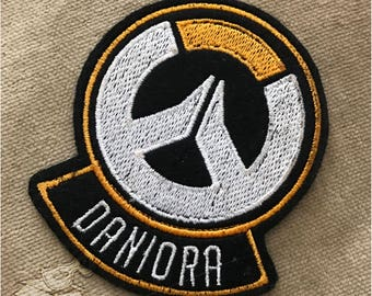 Customized Overwatch Inspired Sew-On Patch