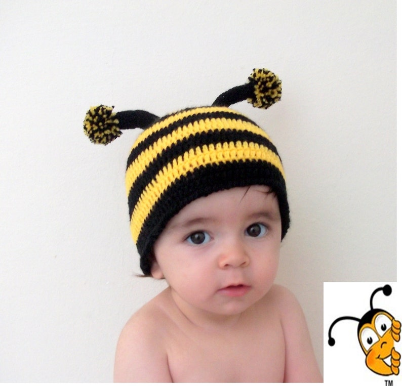 8391dbc7937 Crochet Bumblebee Hat-for photographers photo prop for