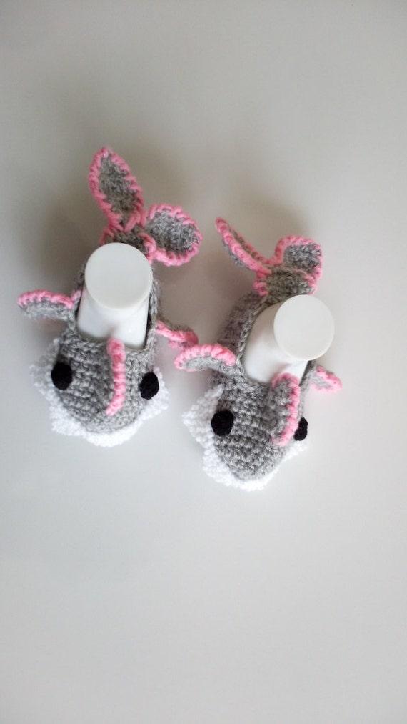 Haak Baby Shark Slippers Huis Schoenen Haak Baby Slofjes Voor Etsy