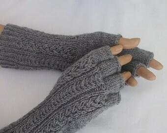 Half Finger Gloves-Gray Gloves