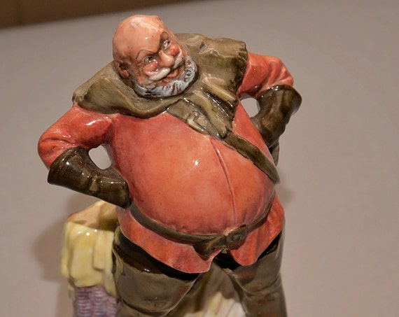 Falstaff Royal Doulton Figurine HN 2054 Theater Character  Retired Figurine Shakespeare