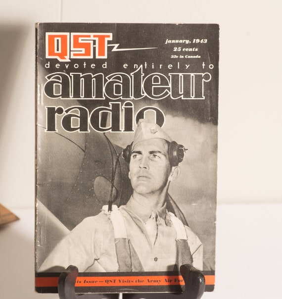 3 QST Amateur Radio Magazines 1949,1947 and 1950 Super cover illustrations  HAM RADIO