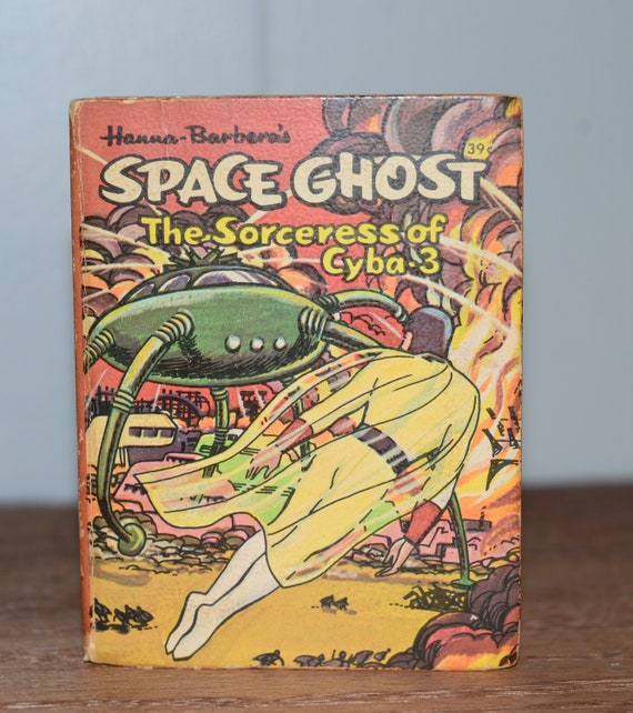 Little Big Books Space Ghost 1968 Hanna Barbara The Sorceress Gyba 3 Great Space Graphics Whitman