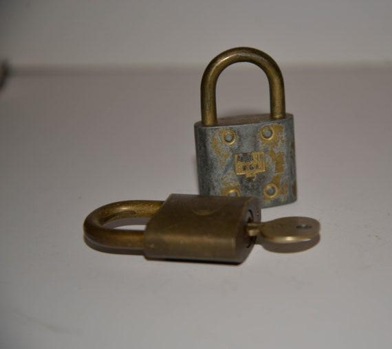 Pair of Vintage Locks , Slay Maker and One other - Great vintage locks.