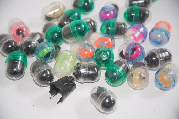 NOS Lot of  30 plus Batman Gumball Rings Glow in the Dark and Others Samson Productions 1966 30 Rings one Price