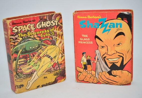 Hanna Barbera's  Big Little Books Shazzan and Space Ghost  Big Little Book Whitman #2024