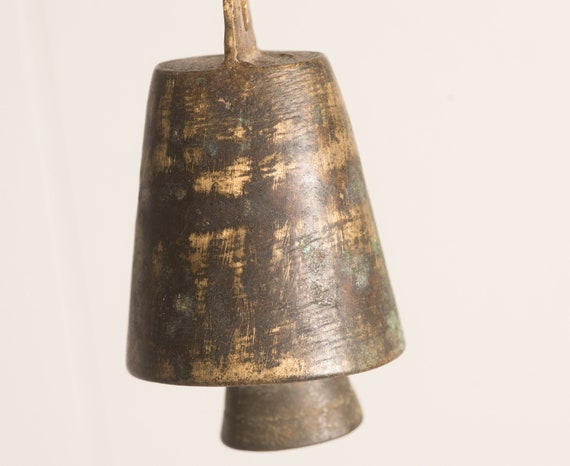 Vintage Livestock Bell Goat Bell Hand forged Beautiful tone free shipping