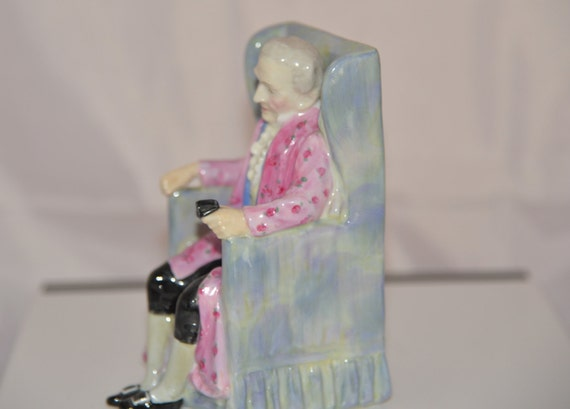 Royal Doulton Gentelman Figure Darby HN 2024 Early Mark Was made as mate to HN2023 Old Man Figurine