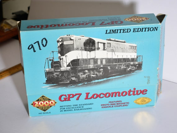 Proto GP7 Locomotive engine HO 970 Lackawanna Railroad Vintage Train Engine with box free ship