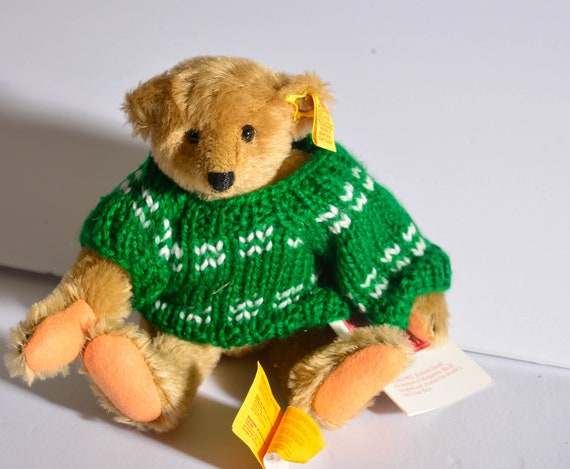 "Steiff Margaret Woodbury Strong Museum Bear, #0155/26,  Circa 1982 10 "" Jointed Bear with Sweater"