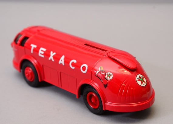 ERTL Truck Texaco Fuel Delivery Truck Doodlebug 1934 Diamond T 1994 Diecast Collectible MIB BANK