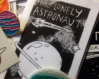 Outer Space Grab Bag - Stickers, Patches, Art, Zines and More