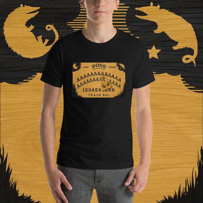 Possum Ouija Board T-Shirt image 0