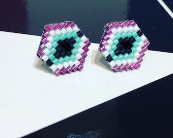 Attina Post Earrings