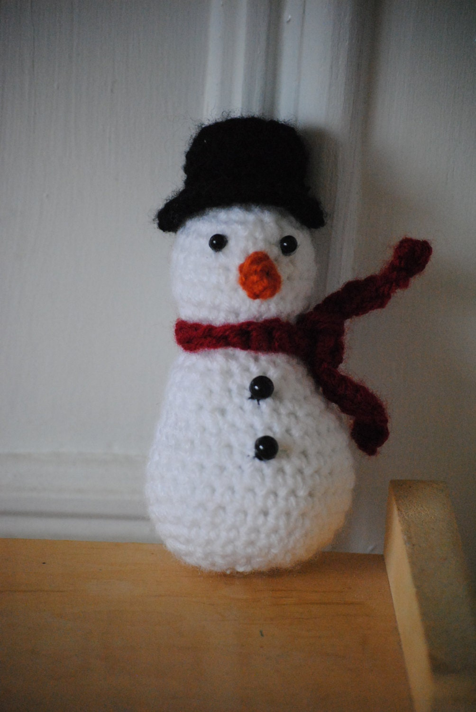 Mini Stuffed Snowman Newborn Photo Prop Christmas Prop Etsy