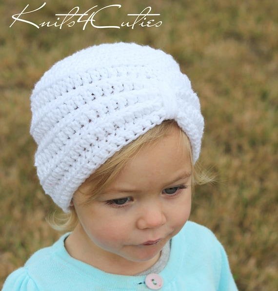 Crochet baby turban hat any color any size  7201599755b