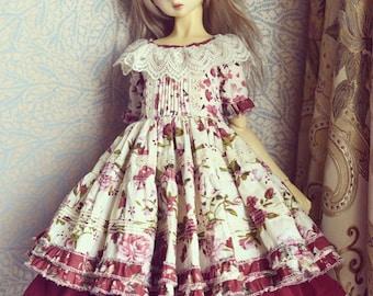 SD/SD13/SDGR 60cm bjd girls dress set (D)