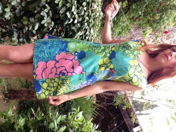 1960s psychedelic ItalianVTG Hippie Pucci style m… - image 2