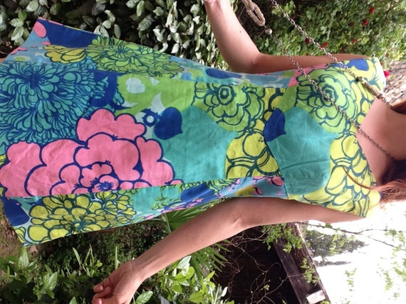1960s psychedelic ItalianVTG Hippie Pucci style m… - image 4