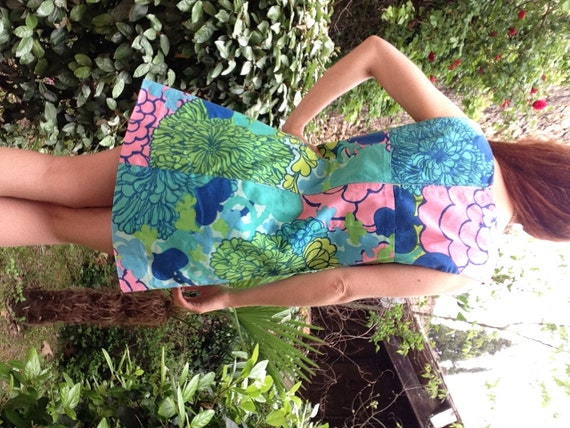 1960s psychedelic ItalianVTG Hippie Pucci style m… - image 3