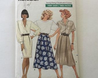 50cd6cef09e2 Butterick 6014 Vintage Sewing Patterns Uncut Misses Skirts