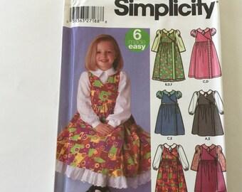 Simplicity Sewing Pattern 8660 un bebé Multi